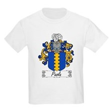 Paola Family Crest Kids T-Shirt