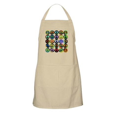 Cool Peace Signs BBQ Apron