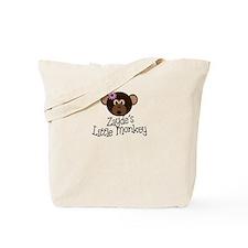 Zayde's Little Monkey Girl Tote Bag