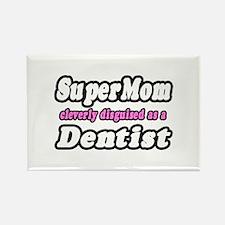 """SuperMom...Dentist"" Rectangle Magnet"