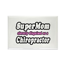 """""""SuperMom...Chiropractor"""" Rectangle Magnet"""