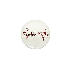 Zombie Killer Splatters Mini Button (10 pack)