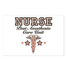 PACU Nurse Caduceus Postcards (Package of 8)