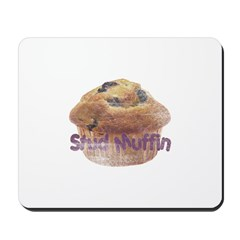 Distressed Vintage Stud Muffi Mousepad