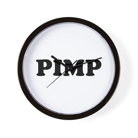 """""""PIMP"""" Wall Clock"""