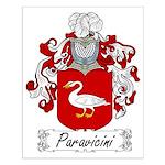 Paravicini Family Crest Small Poster
