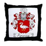 Paravicini Family Crest Throw Pillow