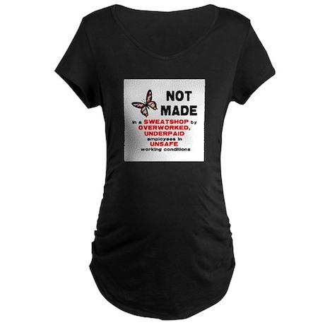 Not Made... Maternity Dark T-Shirt