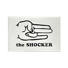 """""""The Shocker"""" Rectangle Magnet"""