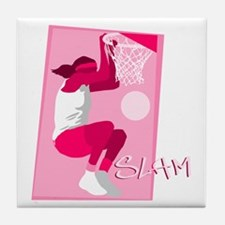 Slam Dunk Tile Coaster