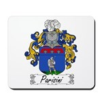 Parisini Family Crest Mousepad