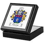 Parisini Family Crest Keepsake Box