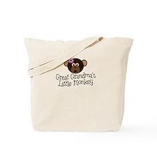 Great Grandma's Monkey G Tote Bag