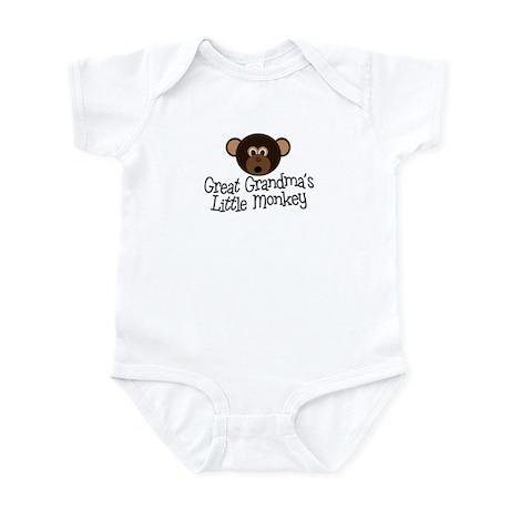 Great Grandma's Monkey B Infant Bodysuit