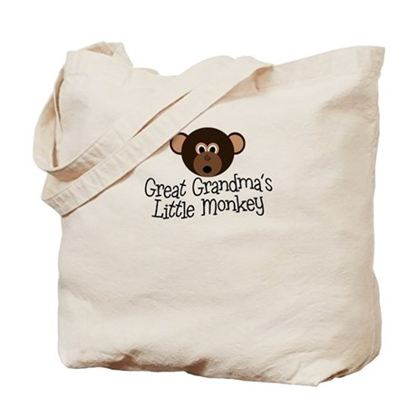 Great Grandma's Monkey B Tote Bag