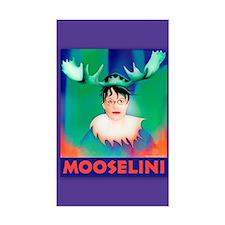 Sarah Palin is Mooselini Rectangle Decal