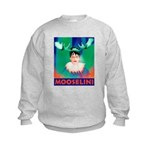 Sarah Palin is Mooselini Kids Sweatshirt