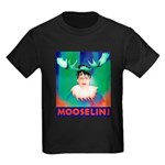 Sarah Palin is Mooselini Kids Dark T-Shirt