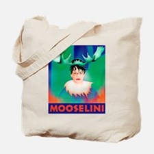 Sarah Palin is Mooselini Tote Bag