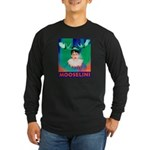 Sarah Palin is Mooselini Long Sleeve Dark T-Shirt