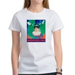 Sarah Palin is Mooselini Women's T-Shirt