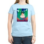 Sarah Palin is Mooselini Women's Light T-Shirt