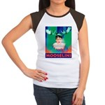 Sarah Palin is Mooselini Women's Cap Sleeve T-Shir