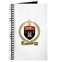 CARIVEAU Family Crest Journal