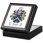Pasetti Family Crest Keepsake Box