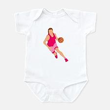 Pink Play Hard Infant Bodysuit
