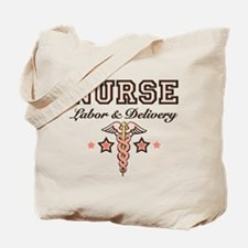 Labor & Delivery Nurse Caduceus Tote Bag