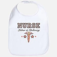 Labor & Delivery Nurse Caduceus Bib