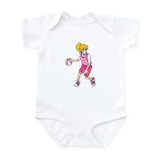 Basketball Girl Infant Bodysuit