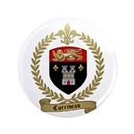 "CORRIVEAU Family Crest 3.5"" Button"