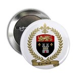 "CORRIVEAU Family Crest 2.25"" Button (100 pack"