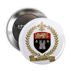 """CORRIVEAU Family Crest 2.25"""" Button (10 pack)"""