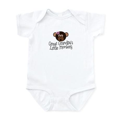 Great Grandpa's Monkey G Infant Bodysuit