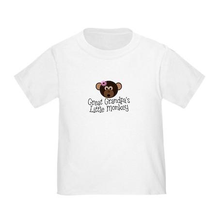Great Grandpa's Monkey G Toddler T-Shirt