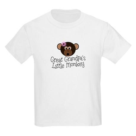 Great Grandpa's Monkey G Kids Light T-Shirt