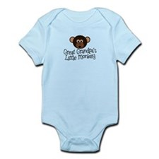 Great Grandpa's Monkey B Infant Bodysuit