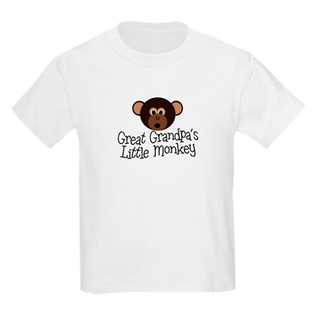 Great Grandpa's Monkey B Kids Light T-Shirt