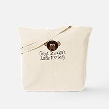 Great Grandpa's Monkey B Tote Bag