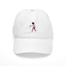 Basketball Girl Baseball Cap