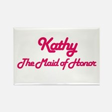 Kathy - Maid of Honor Rectangle Magnet