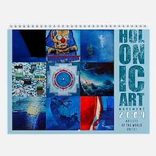 Holonic Art Movement - 2009 Wall Calendar