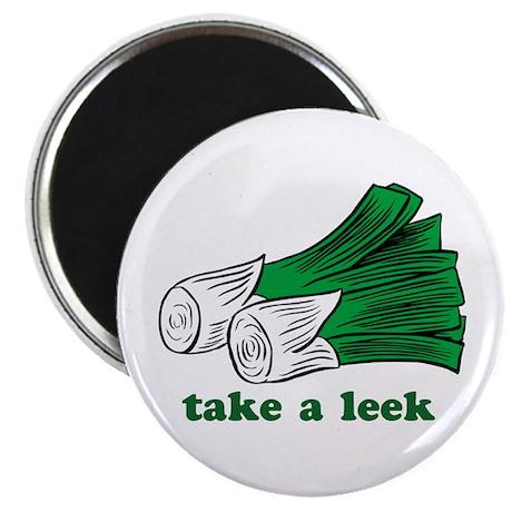 """""""Take a Leek"""" Magnet"""