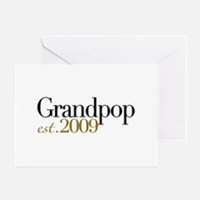 New Grandpop 2009 Greeting Card
