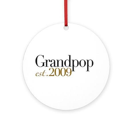 New Grandpop 2009 Ornament (Round)