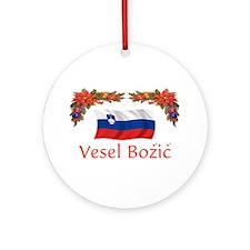 Slovenia Vesel...2 Ornament (Round)