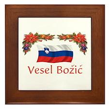 Slovenia Vesel...2 Framed Tile